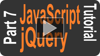 JavaScript jQuery Tutorial part 7