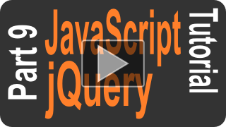 JavaScript jQuery Tutorial part 9