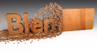Blender Wood Chipping Text Animation